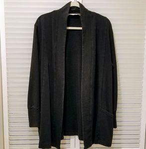 New York & Company Sweaters - NY & Co Black Jersey Cardigan